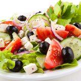 Грецький салат з сиром фета