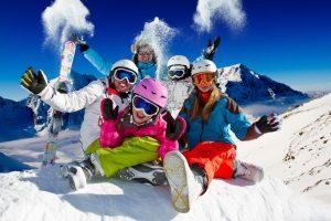Зима, гори, лижі
