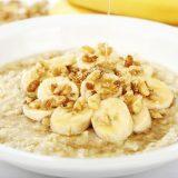 Бананова вівсянка – корисний і смачний сніданок за 5 хвилин