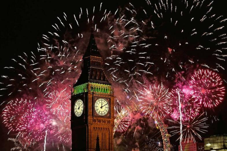 Новий Рік у Великобританії