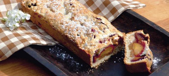 Італійський сливовий пиріг